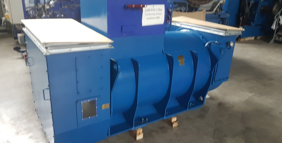 Used steam and gas turbines  Used gas CHP generators and