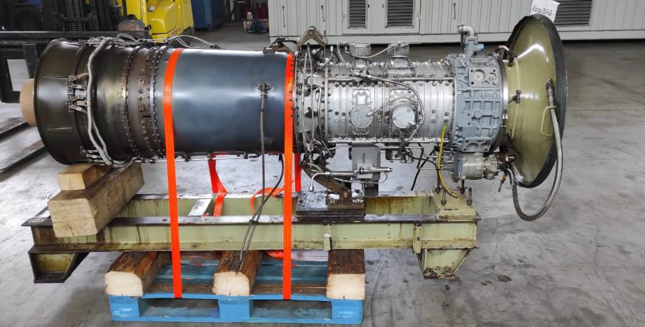 4000 KW Centrax Allison CX 501- KB5S Gas turbine with gearbox only